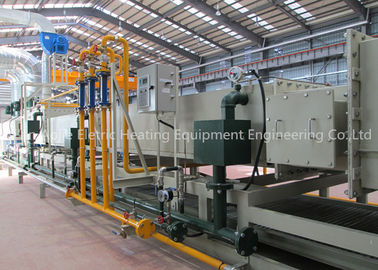 Nitrogen Protection Mesh Belt Furnace , Industrial Brazing Furnace For Intercooler