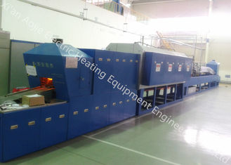 Microcomputer Control Aluminum Brazing Furnace , High Temperature Vacuum Brazing Equipment
